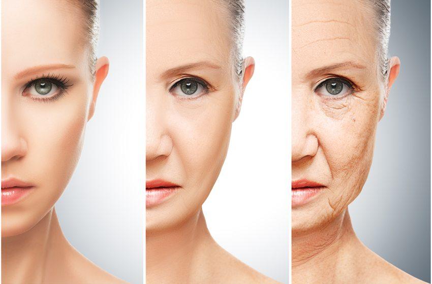 Spätestens nach dem 40. Geburtstag stellen sich bei vielen Frauen die ersten optischen Anzeichen des Alters ein. (Bild: Evgeny Atamanenko / Shutterstock.com)