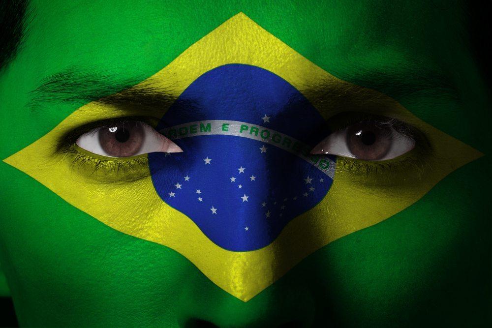 Auch die brasilianische Flagge kann zur Kreation eines perfekten WM-Stylings verwendet werden. (Bild: aslysun / Shutterstock.com)