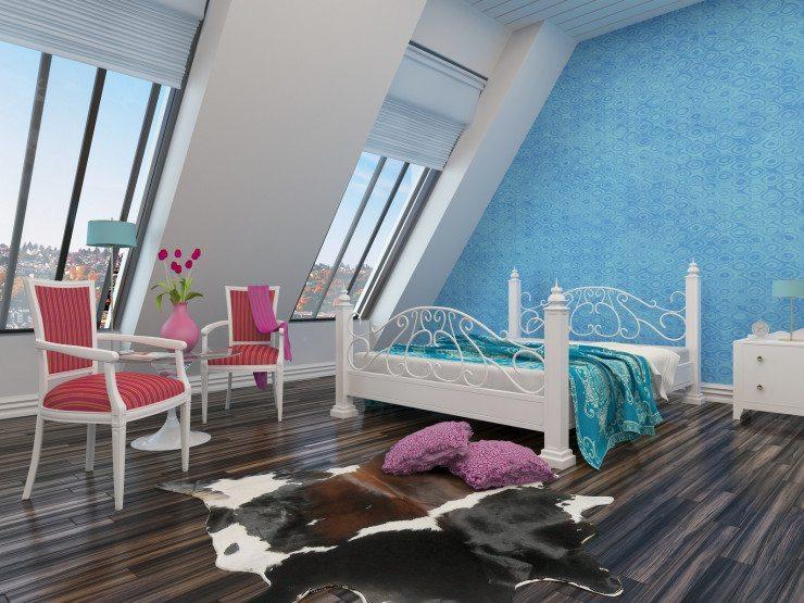 Mehr als nur ein Raum für das Bett: das moderne Schlafzimmer als Wohnraum. (Bild: © XtravaganT - Fotolia.com)