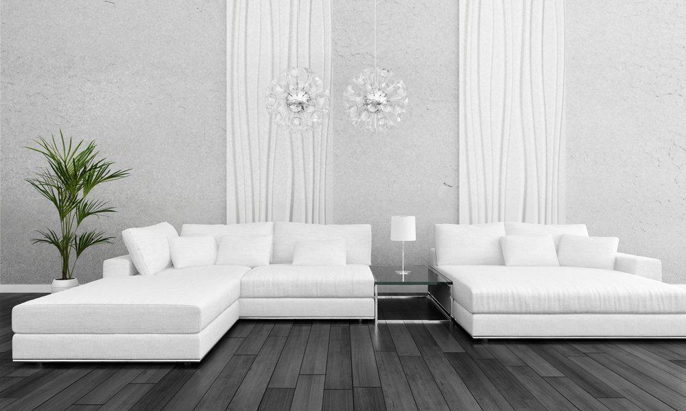 einrichten mit weiss und gold und im mittelpunkt das designer sofa. Black Bedroom Furniture Sets. Home Design Ideas