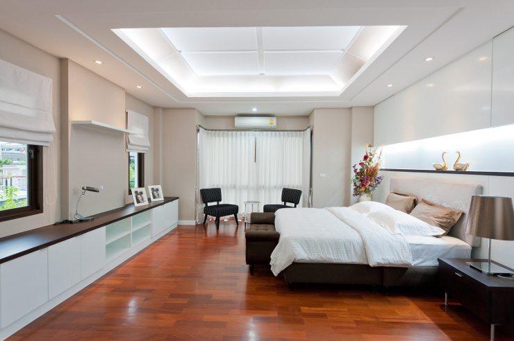 Schick und gemütlich sollte ein Bett sein. (Bild: © det-anan sunonethong - Fotolia.com)