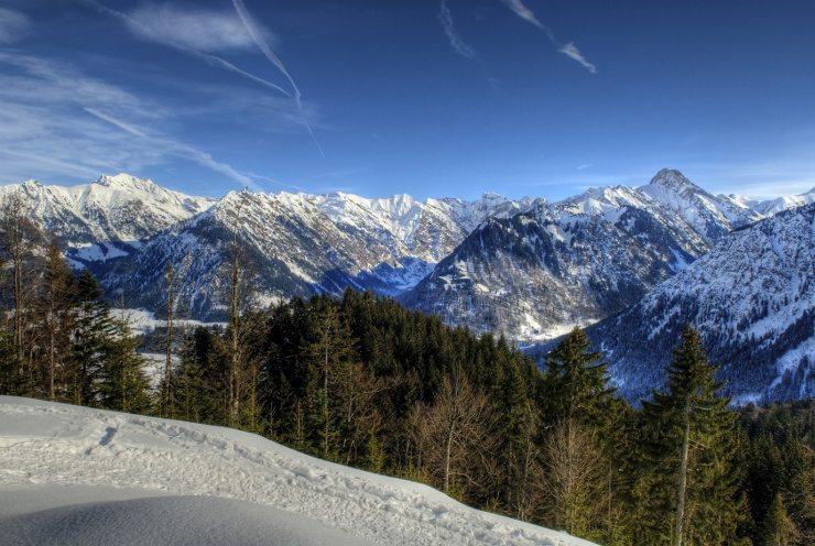Zauberhafte Winterferien erleben Sie im Kinderhotel Oberjoch. (Bild: © Picturenick - Fotolia.com)