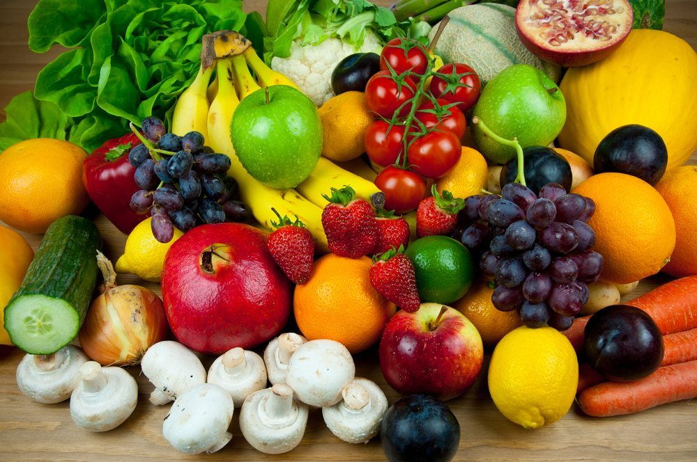 Gemüse und Obst. (Bild: stocker1970 / Shutterstock.com)