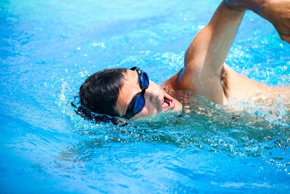 zwemmen cellulitis