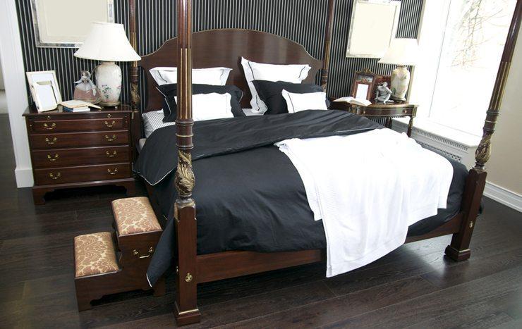 Das Bett als ein Blickfang im Schlafzimmer. (Bild: © Lestertair - shutterstock.com)
