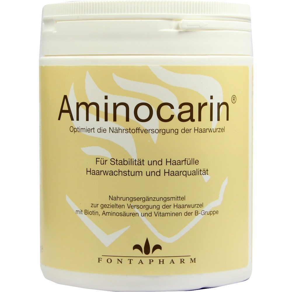 Aminocarin® 400 g Pulver. (Quelle: eurapon.de)