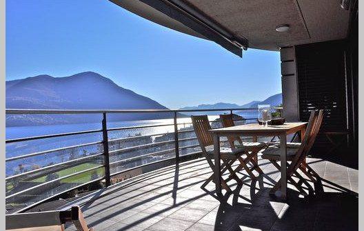 """Die Ferienwohnung """"Al Porto"""" - eine Luxusunterkunft der Extraklasse. (Bild: © tessin-ferienwohnungen.com)"""