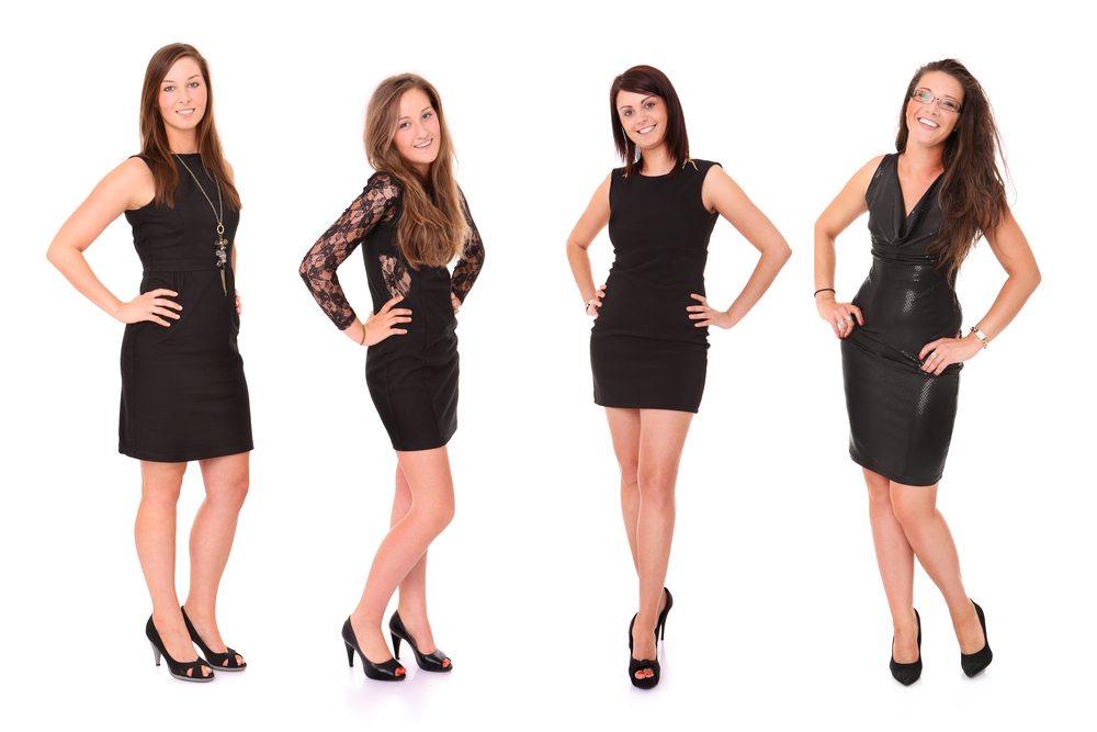 Falls das eigene Kleid nicht passt, findet sich ein Ersatzdress im Kleiderschrank einer der Freundinnen ganz sicher. (Bild: Kamil Macniak / Shutterstock.com)