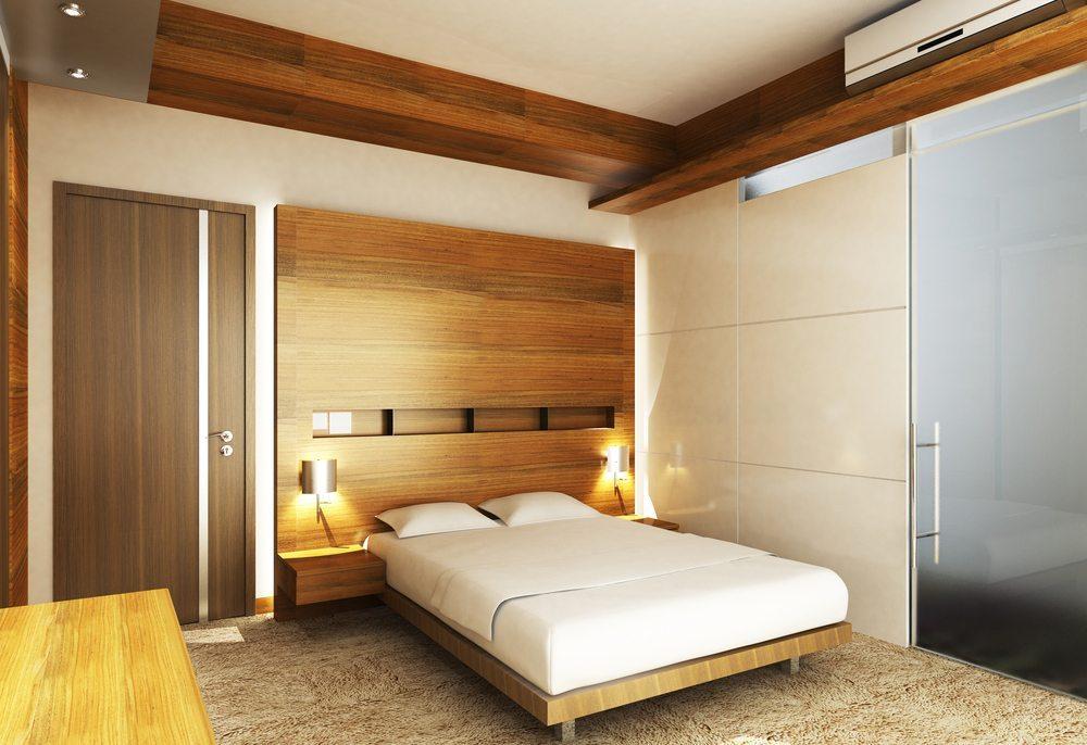 Gestalten Sie Ihren Schlafraum so reizarm wie irgend möglich. (Bild: wongwk / Shutterstock.com)