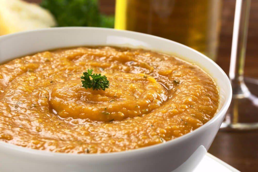 Vegetarische Kartoffelcreme (Bild: © Ildi Papp - shutterstock.com)