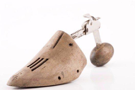 Schuhspanner verleihen Schuhen die nötige Stabilität.
