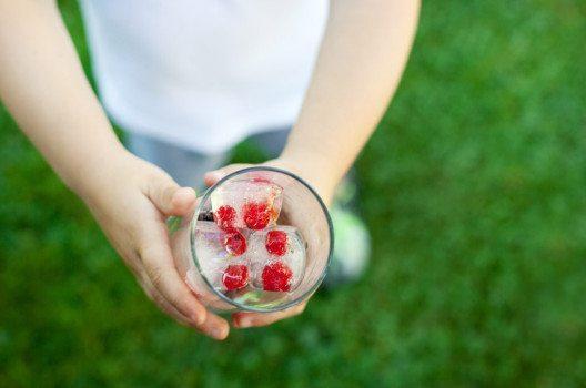 Eiswürfel können Farbe ins Spiel bringen. (Bild: Irina Schmidt – fotolia.com)
