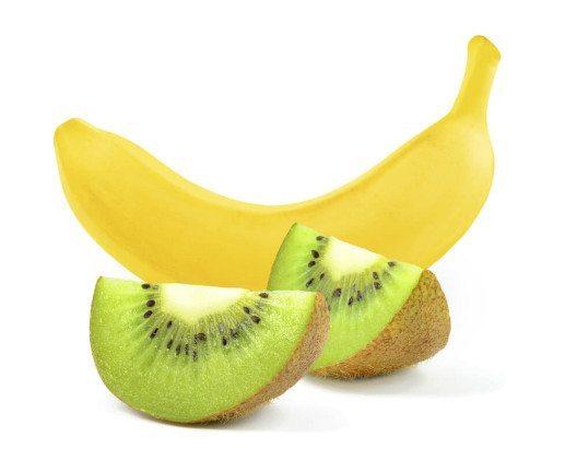 Kiwi und Banane - eine leckere Kombination. (Bild: © Slawomir Zelasko - shutterstock.com)