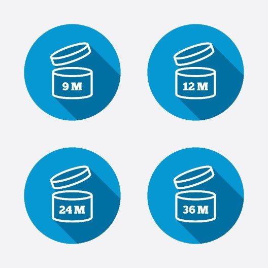 Wie lange kosmetische Mittel haltbar sind, verrät immer die Verpackung. (Bild: © Blan-k - shutterstock.com)