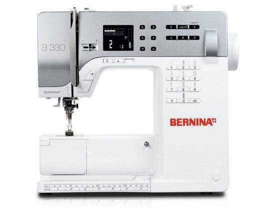 Moderne Einsteigermodelle unter den Nähmaschinen ermöglichen einen guten Start ins kreative Hobby - z. B. die BERNINA 330 De Luxe (Bild: berninazug.ch)