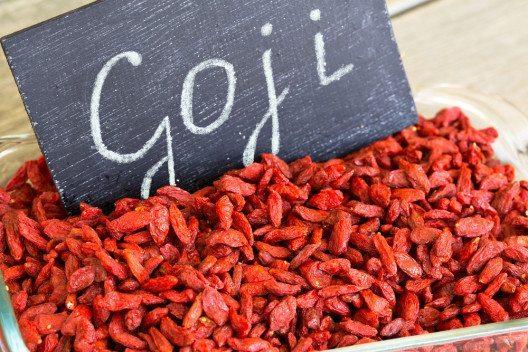 Ein echtes Superfood: Gojibeeren. (Bild: © ORLIO - shutterstock.com)
