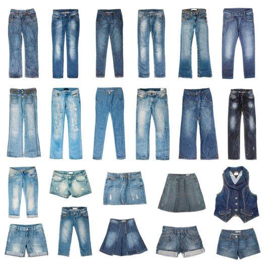In dieser Saison ist Jeans-Mode voll angesagt. (Bild: © Andrey Armyagov - shutterstock.com)4