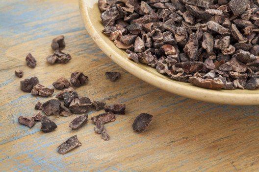 Cocoa Nibs können übers Morgenmüsli gestreut oder zum Backen verwendet werden. (Bild: nu3.ch)