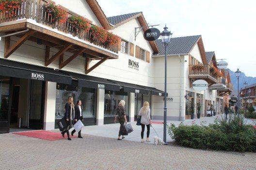 Neue Hugo Boss-Boutique im Designer Outlet Landquart (© Designer Outlet Landquart)