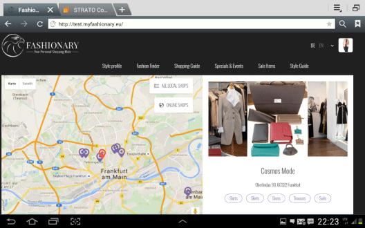 Mitte November geht der Shopping-Dienst My Fashionary mit der ersten Beta-Version online.