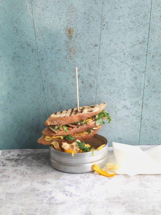 Vegane Kueche Clubsandwich (Bild: © Unilever Food Solutions)