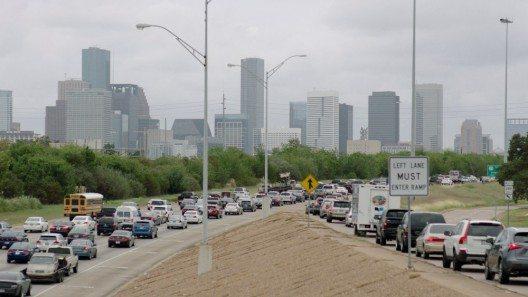Berufsverkehr in Houston