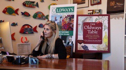 Oldways-Vorsitzende Sara Baer-Sinnott