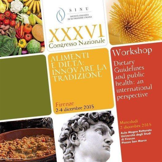 """""""Foods and diet: innovating tradition"""" (Lebensmittel und Ernährung: Tradition erneuern) (Bild: © SICS)"""
