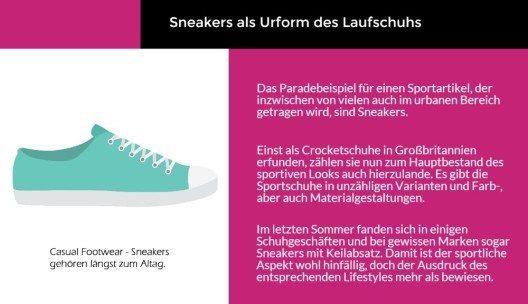 Sneakers als Urform des Laufschuhs