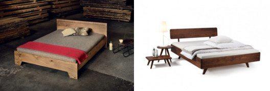 Massivholzbetten von Holzmanufaktur und anderen Herstellern sind fürs Schlafzimmer eine solide Wahl.