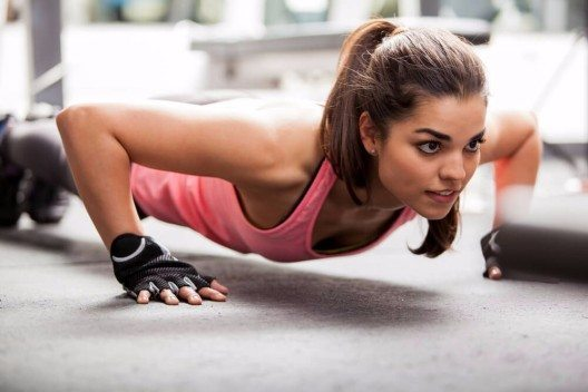 Trainieren mit dem eigenen Körpergewicht (Bild: © antoniodiaz - shutterstock.com)