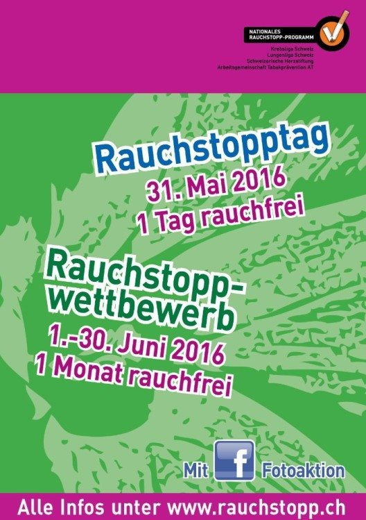Rauchstopptag (Bild: © Arbeitsgemeinschaft Tabakprävention AT)