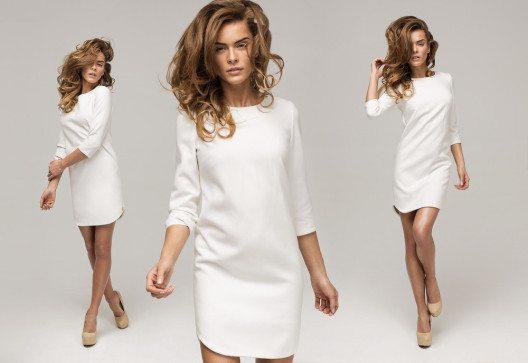 Aktuell kann Weiss auch ruhig mal die Hauptrolle im Outfit spielen. (Bild: kiuikson – Shutterstock.com)