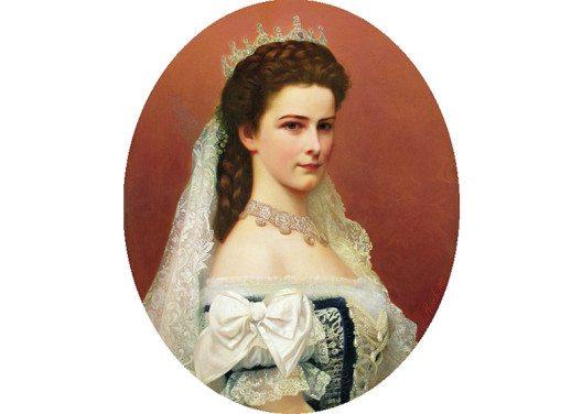 Laiserin Elisabeth als ungarische Königin (Bild: Georg Martin Ignaz Raab, Wikimedia, public domain)