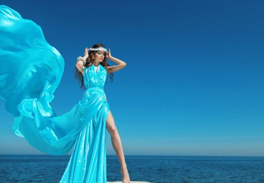 Aquagrün – die Farbe des Frühsommers. (Bild: Victoria Andreas – Shutterstock.com)