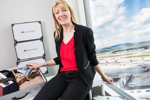 Anna Alex im Schweizer Office (Bild: OUTFITTERY Schweiz GmbH)