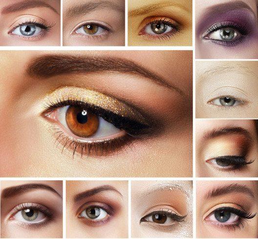 Nur wer seine Augenform kennt, kann sie mit dem richtigen Make-up effektvoll in Szene setzen. (Bild: Gromovataya – Shutterstock.com)