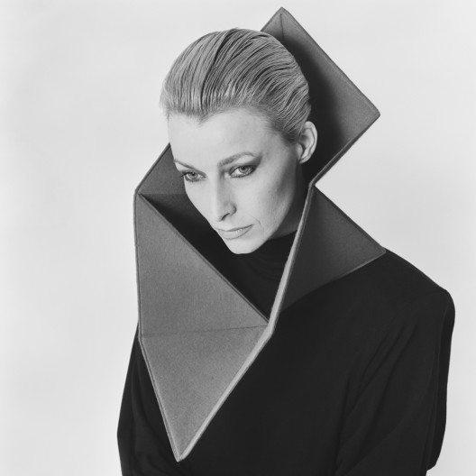 Johanna Dahm: Kragenobjekte, 1984; Filz genäht, Kunststoff; Im Besitz der Künstlerin. (Bild: Anne Beeke)