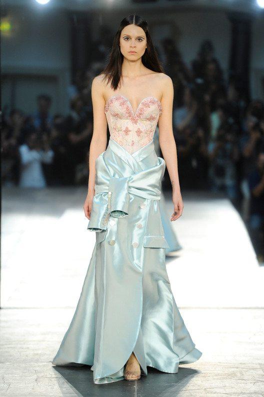 Alexis Mabille auf der Paris Fashion Week. (Bild: © Alexis Mabille)