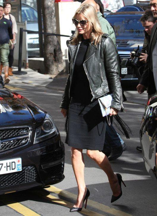 Kate Moss 2012 in Paris (Bild: landmarkmedia – Shutterstock.com)