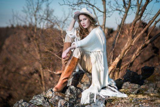 Poncho - Country Style (Bild: © Nick Starichenko - shutterstock.com)