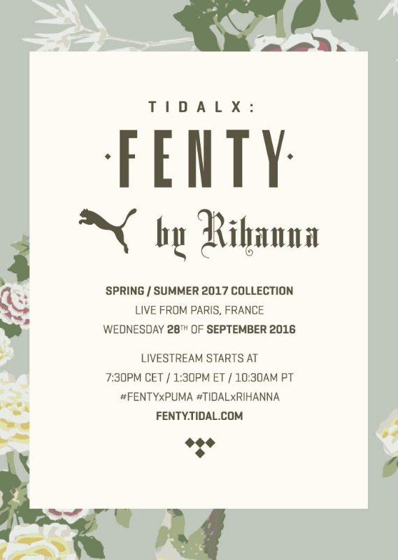 FENTY PUMA - Rihanna (Bild: © TIDAL)