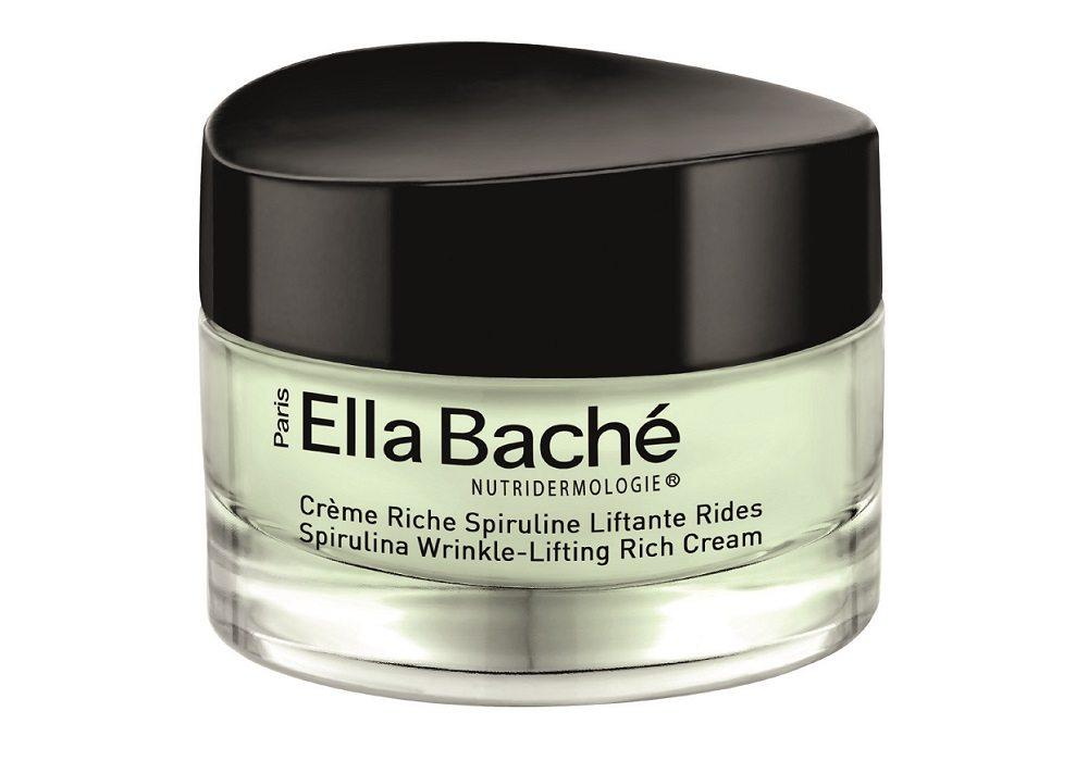 Ella Baché Reichhaltige Spirulina Lifting Creme – Anti-Ageing-Effekte dank Chlorophyll und Proteinen.