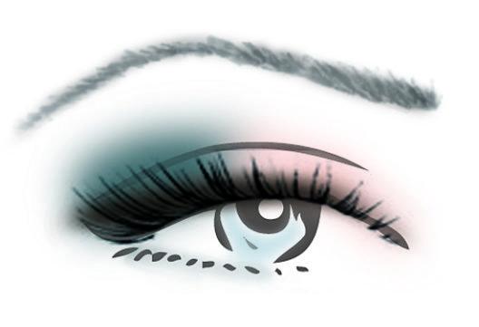 Kombinationsmöglichkeit für blaue Augen (Bild: Couleur Caramel)