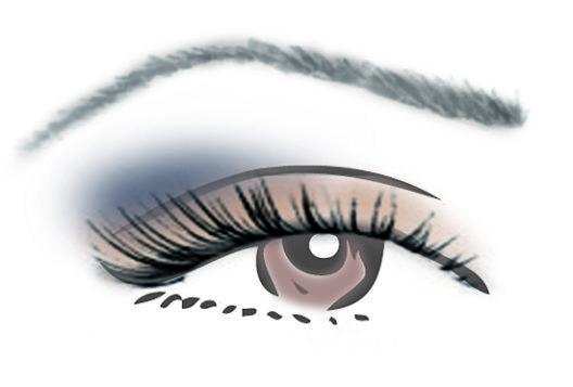 Kombinationsmöglichkeit für braune Augen (Bild: Couleur Caramel)