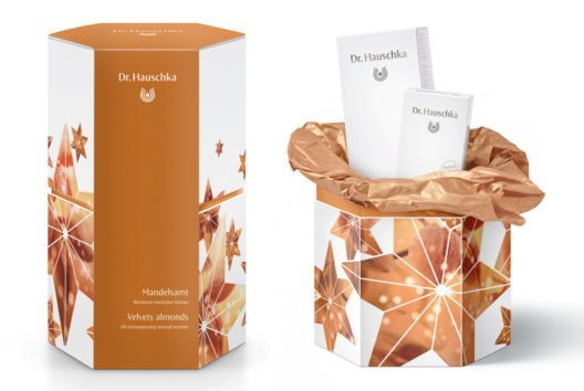 Geschenkset Mandelsamt (Bild: WALA Schweiz GmbH Dr. Hauschka Kosmetik)