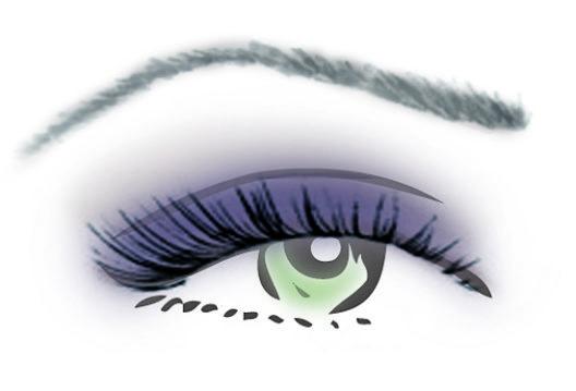 Kombinationsmöglichkeit für grüne Augen (Bild: Couleur Caramel)