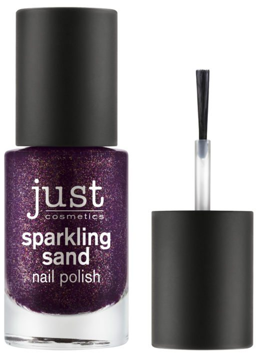 just cosmetics sparkling sand nail polish 070