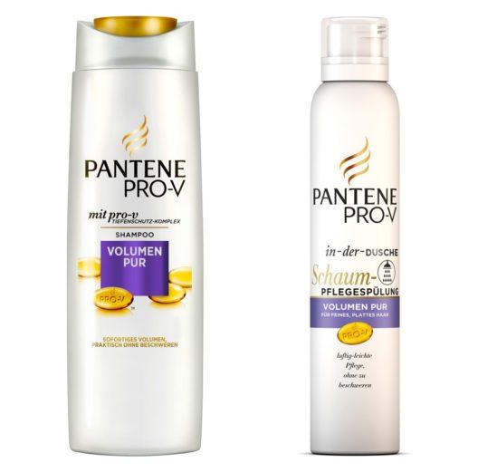 Pantene Pro-V Volumen Pur (Bild: Pantene Pro-V /Procter & Gamble GmbH)