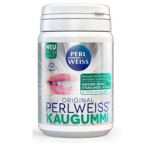 PERLWEISS™ KAUGUMMI (Bild: PERLWEISS™)